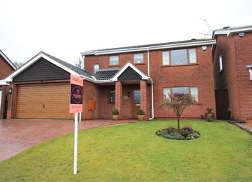 Thumbnail 4 bed detached house for sale in Rolleston Crescent, Watnall, Nottingham