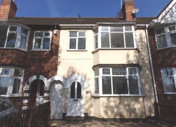 Thumbnail 3 bed terraced house for sale in Blackbird Road, Leicester, Leicestershire, England