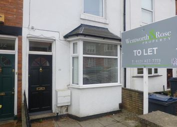 Thumbnail 2 bed terraced house to rent in Gordon Road, Harborne, Birmingham, West Midlands