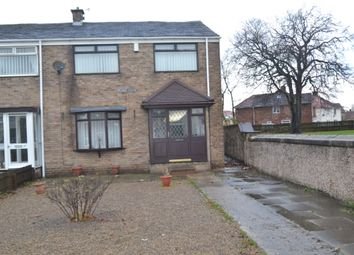 Thumbnail 3 bed end terrace house for sale in Peart Close, Sherburn, Durham
