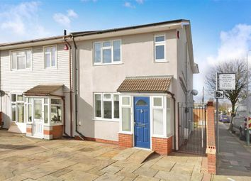 Thumbnail 3 bed end terrace house for sale in Chestnut Avenue, Hornchurch, Essex