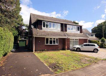 Thumbnail 4 bed semi-detached house for sale in Lynton Gardens, Fareham