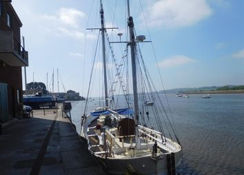 Thumbnail 8 bed houseboat for sale in Mary Roma, Topsham Quay, Topsham