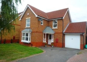 Thumbnail 3 bed detached house to rent in Eglantine Close, Oadby, Leicester