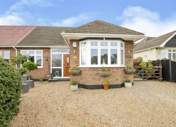 Thumbnail 3 bed semi-detached bungalow for sale in Wyatts Green Road, Wyatts Green, Brentwood