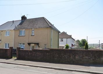 Thumbnail 2 bed semi-detached house for sale in Windsor Road, Brynmawr, Ebbw Vale
