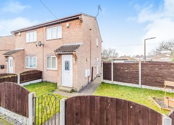 Thumbnail 2 bed semi-detached house for sale in Broadlands Close, Dunscroft, Doncaster
