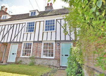 Thumbnail 2 bed terraced house to rent in Eyhorne Street, Hollingbourne, Maidstone
