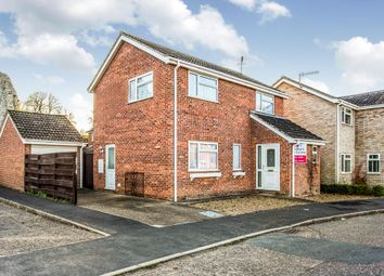 Thumbnail 3 bed detached house for sale in Canons Close, Thetford