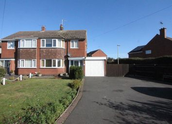Thumbnail 3 bed semi-detached house for sale in Manor Road, Desford, Leicester