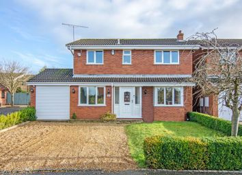 Thumbnail 5 bed detached house to rent in Edgemoor Meadow, Heath Hayes, Cannock