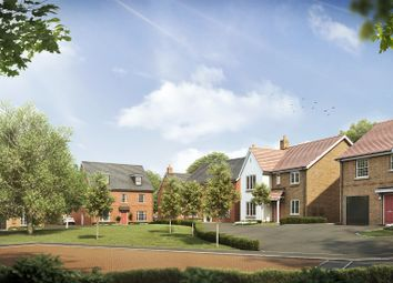 Thumbnail 4 bedroom detached house for sale in The Green, Ullesthorpe, Lutterworth