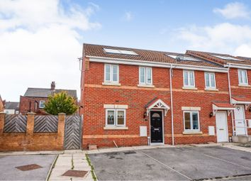 Thumbnail 3 bed town house for sale in Featherstone Grove, Featherstone, Pontefract