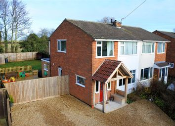 Thumbnail 3 bed semi-detached house for sale in Belvoir Gardens, Great Gonerby, Grantham