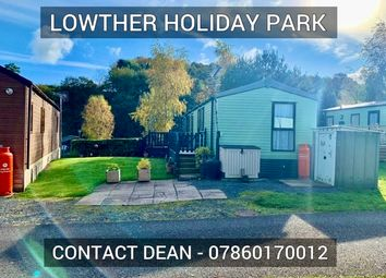 Thumbnail 2 bedroom mobile/park home for sale in Lowther Holiday Park, Penrith, Cumbria