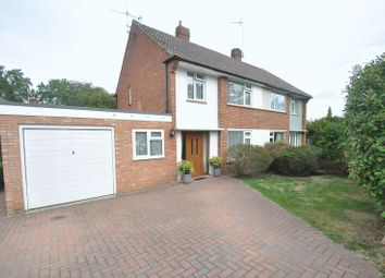 Thumbnail 3 bed semi-detached house for sale in Silver Birch Close, Church Crookham, Fleet