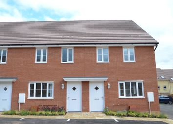 Thumbnail 3 bed end terrace house for sale in Greystone Walk, Cullompton, Devon
