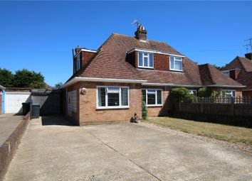 Thumbnail 3 bed semi-detached house for sale in Melrose Avenue, Worthing, West Sussex