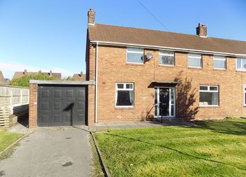 Thumbnail 4 bed semi-detached house for sale in York Avenue, Culcheth, Warrington
