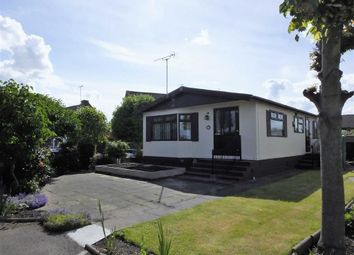 Thumbnail 2 bed mobile/park home for sale in Riverside Park, Burton On Trent, Staffordshire