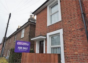 Thumbnail 2 bed end terrace house for sale in Quarry Road, Tunbridge Wells