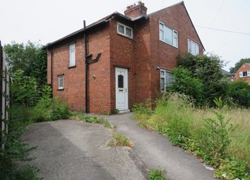 Thumbnail 3 bed semi-detached house for sale in Cambridge Street, Rotherham