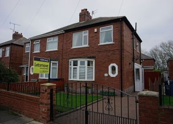 Thumbnail 2 bed semi-detached house for sale in Iolanthe Crescent, Newcastle Upon Tyne