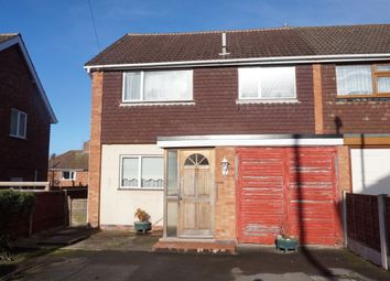 Thumbnail 3 bed semi-detached house for sale in Woodhurst Close, Amington, Tamworth