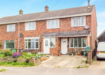 Thumbnail 4 bed semi-detached house for sale in Eastgate, Cawston, Norwich