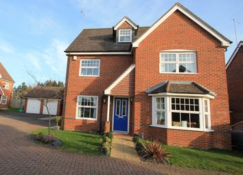 Thumbnail 4 bedroom detached house for sale in Rowlock Gardens, Hermitage, Thatcham