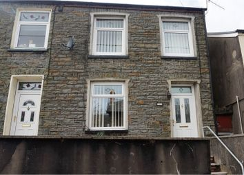 Thumbnail 3 bed end terrace house for sale in High Street, Mountain Ash