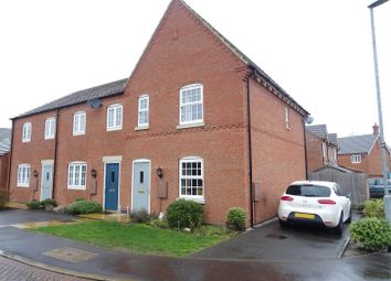 Thumbnail 3 bed town house for sale in George Avenue, Ibstock, Leicestershire