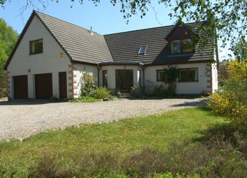 Thumbnail 5 bed detached house for sale in Dunachton Road, Kincraig, Kingussie