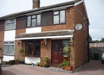 Thumbnail 3 bed semi-detached house for sale in Bartlett Close, Tipton