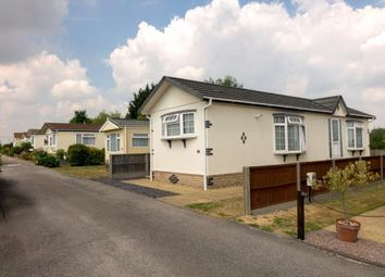 Thumbnail Mobile/park home for sale in Hitcham, Ipswich, Suffolk
