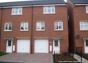 Thumbnail 4 bed town house to rent in Seymour Road, Oldbury