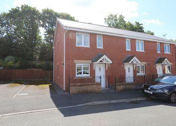 Thumbnail 2 bedroom end terrace house for sale in Llwyn Teg, Fforestfach, Swansea, Glamorgan/Morgannwg
