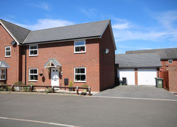 Thumbnail 4 bed semi-detached house for sale in Donna Nook Lane Kingsway, Quedgeley, Gloucester