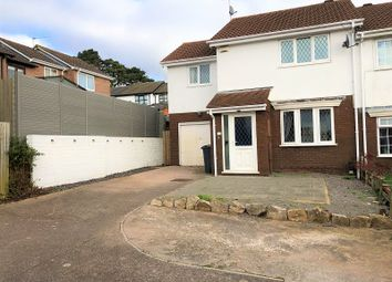 Thumbnail 3 bed end terrace house for sale in Vaindre Close, St. Mellons, Cardiff.