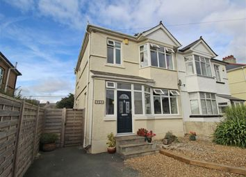 Thumbnail 4 bed semi-detached house for sale in Cross Park Road, Crownhill, Plymouth