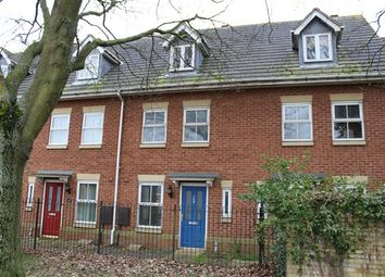 Thumbnail 3 bedroom town house for sale in Stratford Road, Wolverton, Milton Keynes
