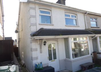 Thumbnail 2 bed semi-detached house for sale in Wood Street, Gilfach Goch, Porth