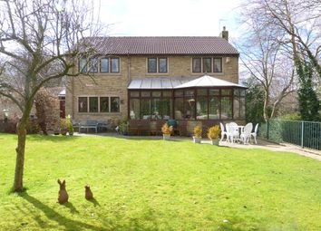 Thumbnail 4 bed detached house for sale in Bank House, New Close Road, Nab Wood, Shipley