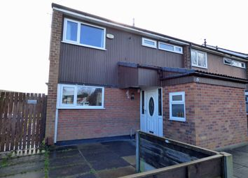 Thumbnail 3 bed terraced house for sale in Chelburn Close, Offerton, Stockport