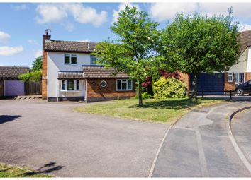 Thumbnail 4 bed detached house for sale in Harris Close, Broughton Astley, Leicester