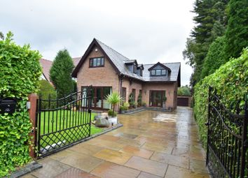 Thumbnail 3 bed detached house for sale in Woodford Road, Woodford, Stockport