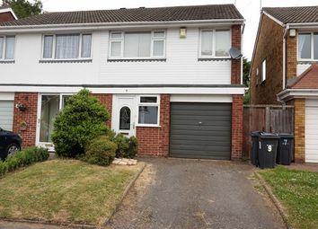 Thumbnail 3 bed semi-detached house for sale in Pine Walk, Northfield, Birmingham