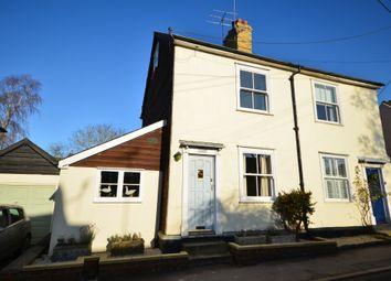 Thumbnail 3 bed semi-detached house for sale in High Street, Debden, Saffron Walden