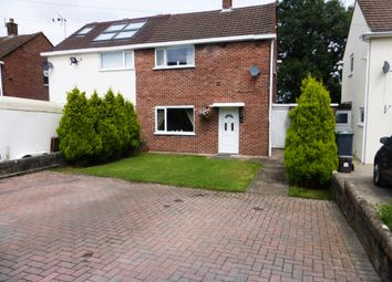 Thumbnail 2 bed semi-detached house for sale in Instow Place, Llanrumney, Cardiff