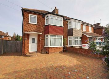 Thumbnail 3 bed semi-detached house for sale in Manor Way, Borehamwood, Herts